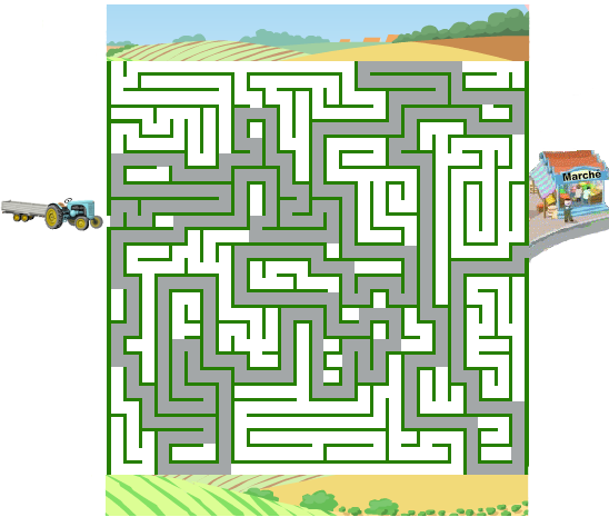 solution du labyrinthe