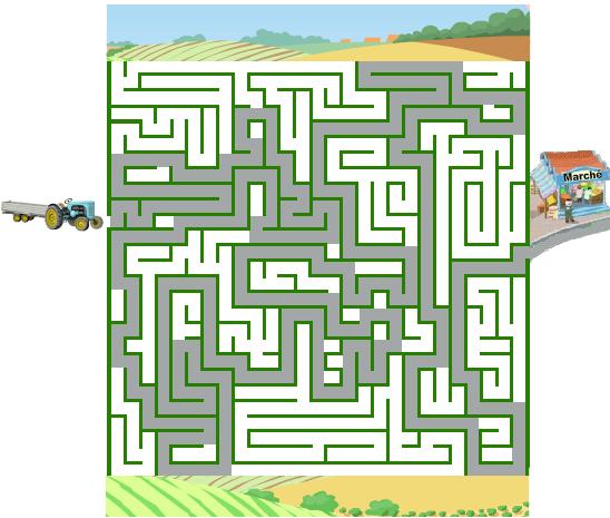 solution du labyrinthe